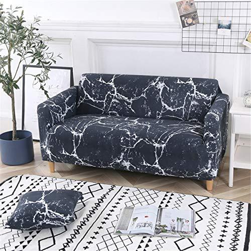 Odot copridivano elastico, copridivano salotto protettore imbottito sofa antiscivolo ideale per poltrone mobili copridivano (3 posti: 185-230cm,pietra)