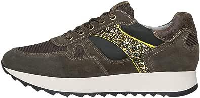 Nero Giardini A908902D Sneakers Donna in Pelle E Camoscio