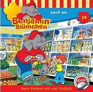 Benjamin Blümchen - Folge 39: Benjamin kauft ein [Audio-CD]