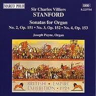 Stanford: Sonatas For Organ, Opp. 151-153