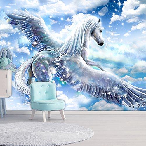 murando - Fototapete Pegasus 300x210 cm - Vlies Tapete - Moderne Wanddeko - Design Tapete -...