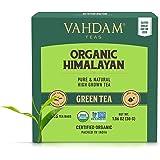 VAHDAM, Hojas de té verde orgánico de Himalaya (30 bolsitas de té), té de pérdida de peso natural 100%, té de desintoxicación
