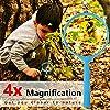 VGEBY 6pcs Kit Adventure - Binocolo, Torcia a Manovella, Bussola, Lente d'Ingrandimento, Fischietto e Zaino con Coulisse, Kit di Esplorazione per Bambini per Campeggio e Escursionismo(Giallo)