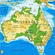 Karte Australien Und Umgebung.Suchergebnis Auf Amazon De Für Australien Karte