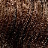 Prettyland - DQ110 60cm X30cm liscia come la seta di un pezzo estensioni a clip nell'estensione dei capelli posticci - 4T30 marrone mista e il nero
