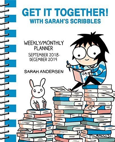 Get It Together! with Sarah's Scribbles 2018-2019 Weekly/Monthly Planner par Sarah Andersen