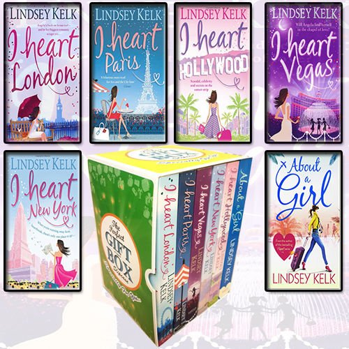 Lindsey Kelk Collection I Heart Series 6 Books Bundle Gift Wrapped Slipcase Specially For You