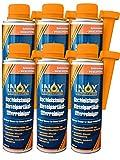 INOX Hochleistungs Dieselpartikelfilter-Reiniger, 6x 250ml - Additiv für alle Dieselmotoren