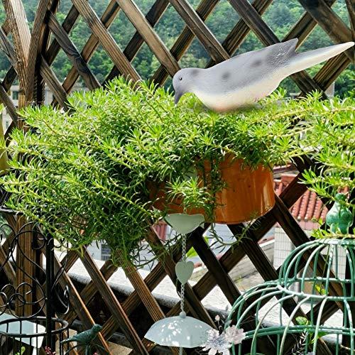 Jeffergarden Garden Animal Decor Gartensimulation Bird Spotted Garden Courtyard Dekorativer Vogel Bionic FigurineDesktop Indoor Gift - Spotted Bird