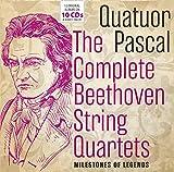Beethoven : Intégrale Cordes/Quatuor Pascal