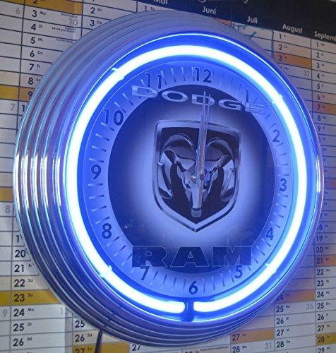 orologio-al-neon-dodge-ram-pickup-garage-simbolo-orologio-parete-usa-50-stile-colore-neon-blu