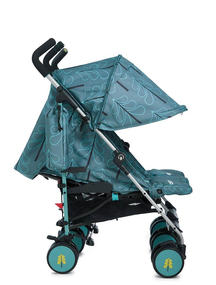Cosatto Supa Dupa Double/Twin Stroller, Suitable from Birth, Fjord Cosatto Supa dupa is a compact from-birth double stroller. it's lightweight but sturdy. the stowaway autostand makes it great for home or car storage. With upf50+ extendable hoods, raincover and fleece-lined footmuffs, supa dupa's in charge, rain or shine.  the handy compact fold means you can hop on and off transport. Each seat has its own recline - so whatever their age, whatever their stage, whatever their mood that day, they're happy. 3