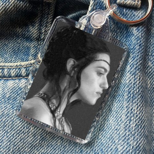 Seasons KATIE McGRATH - Original Art Keyring #js006