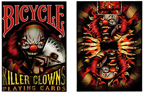 Bicycle bkill - 52 Cartas de Juegos tamaño Poker, 2 Jolly