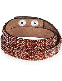 Rafaela Donata - Bracelet fashion cristal de verre - En différentes longueurs, bracelet cristal de verre - 60917044