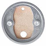 Tesa Befestigungsadapter BK20 (selbstklebend, Zamak Ring aus Kupfer, inkl. Klebetube und Ausdrückhilfe, Durchmesser 38mm)