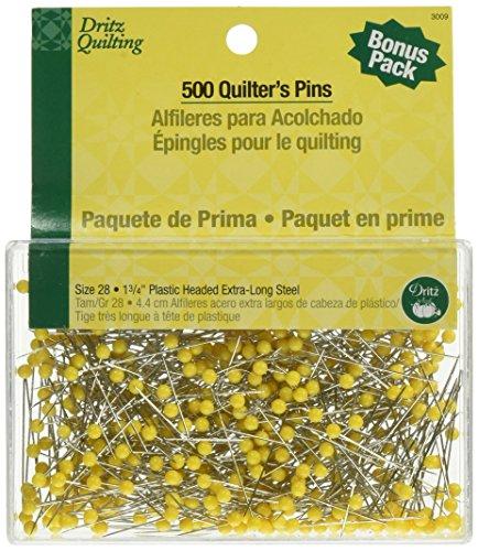 Dritz Quilting Quilter 's Pins aus Stahl, Größe 28 -