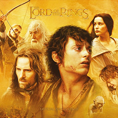 The Official Lord of the Rings 2016 Square Calendar (Calendar 2016)