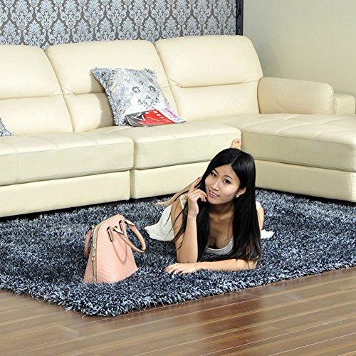 tappeto di seta imbottita/Tavolino salotto camera da letto tappeto/ comodino moquette-A (Tappeti America Del Blocco)