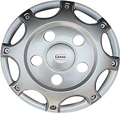 15 Inch Glossy Silver Cimika Wheel Cover For Mahindra Bolero