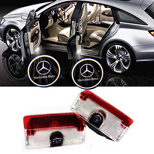 ELOPSM Autotür Logo Türbeleuchtung, LED Einstiegsbeleuchtung, HD Autotür Licht (GLK1)