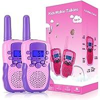 Kearui Spielzeug 3-12 Jahren Junge, Walkie Talkies für Kinder 8 Kanal Funkgerät mit Hintergrundbeleuchteter LCD…