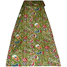 Hecho a mano kanthra algodón colcha alí colcha cubrecama del edredón colcha India Gudari colcha edredón de cama de algodón indio decorativo