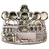 #6: SNB 124 Pieces Stainless Steel Dinner Set