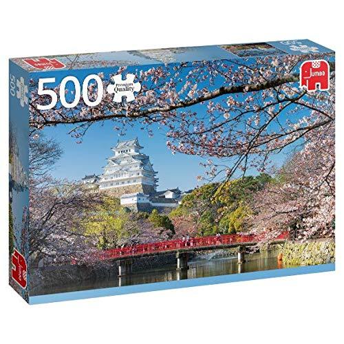 Premium Collection Himeji Castle, Japan 500 pcs Puzzle - Rompecabezas (Japan 500 pcs, Puzzle Rompecabezas, Ciudad, Niños y Adultos, Niño/niña, 12 año(s), Interior)