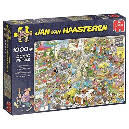Preisvergleich Produktbild Jan van Haasteren - Die Urlaubsmesse - 1000 Teile Puzzle