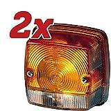 2x HELLA Original Blinkleuchte 2BE 003 014-251