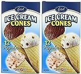 (2 Pack) - Eskal - G/F Ice Cream Cones | 12pieces | 2 PACK BUNDLE