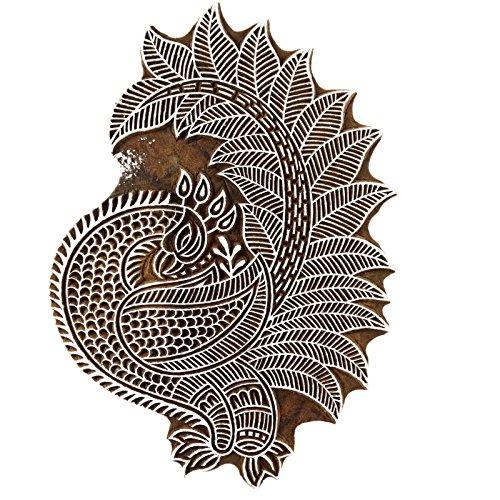 pfaumuster-stempel-holzblock-designer-textildruck-auf-bekleidung-stoff