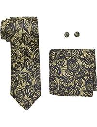 landisun Floral, Set de Cravates Homme