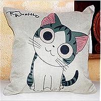 JinRou Moda casual Cat viso carino decorazioni cotone materiale divano