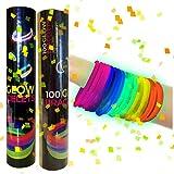 200 Pulseras luminosas glow pack multicolor
