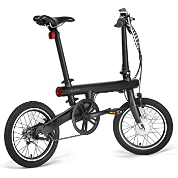Bicicleta electrica plegable carbono