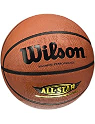 Wilson Performance All Star - Balón, color marrón, talla 7