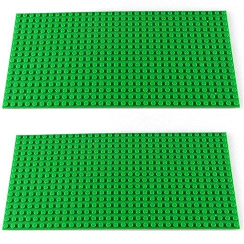 Katara- Set de 2 Placas de construcción, Color 2 x Verde (1672-098)