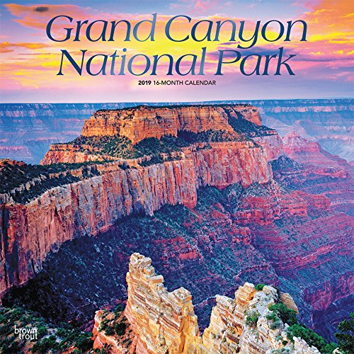 Grand Canyon National Park 2019 - 18-Monatskalender mit freier TravelDays-App: Original BrownTrout-Kalender por Inc. Browntrout Publishers