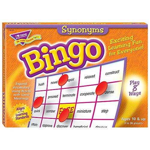 Trend Enterprises, Inc. Synonyme Bingo Spiel