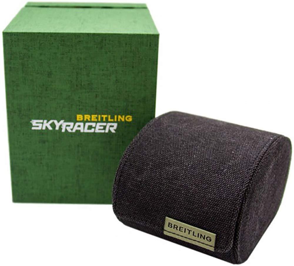 Breitling Colt SkyRacer - Reloj para hombre con correa de goma verde Skyracer X74320E4/BF87-298S 2