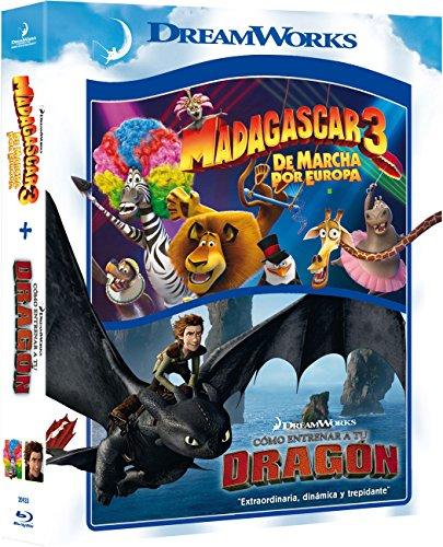 Pack: Madagascar 3 + Cómo Entrenar A Tu Dragón [Blu-ray]