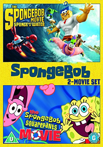 SpongeBob SquarePants: 2-Movie Collection [DVD] [2016]