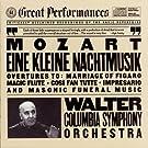 Mozart: Eine Kleine Nachtmusik; Opera Overtures; Masonic Funeral Music