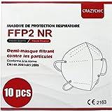 CRAZYCHIC - Mascherine FFP2 Certificata CE EN149 - Maschera di Protezione Antiparticolato - Mascherine Antipolvere