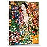 Gustav Klimt - La Bailarina, 1916 Cuadro, Lienzo Montado Sobre Bastidor (80 x 60cm)
