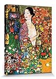 1art1 60792 Gustav Klimt - Die Tänzerin, 1916 Poster Leinwandbild Auf Keilrahmen 80 x 60 cm