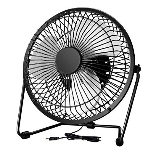 Mini usb Fan 6 Zoll Schreibtisch Schreibtisch Schreibtisch Silent Fan ( Farbe : Schwarz )