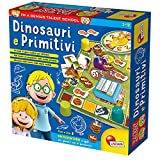 Lisciani Giochi Piccolo Genio Talent School Dinosauri e Uomini Primitivi, 48922